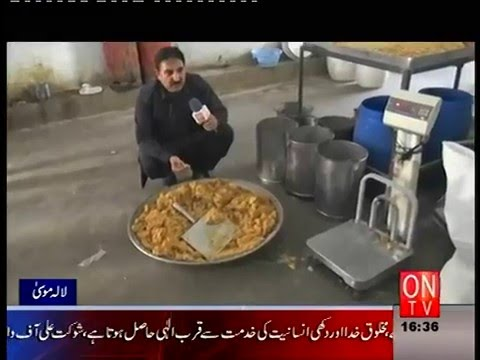 A C kharian in action seal restaurent in lalamusa gujrat part 2