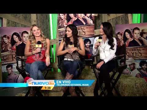 Ana Lorena Sánchez, Kimberly Dos Ramos y Scarlett Grubber en Un Nuevo Dia