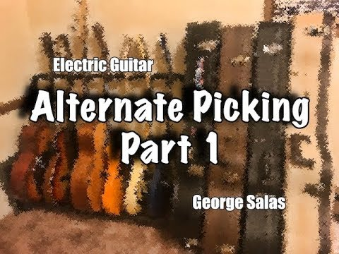 Guitar Lesson - An Alternate Picking Exercise - Part.1