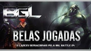 Belas jogadas - 2 lances sensacionais pela BGL Battle 24