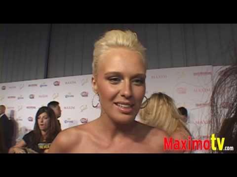 CARIDEE ENGLISH at Maxim Hot 100 Party