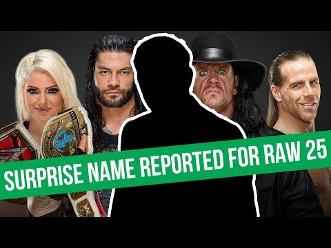 SPOILER: Surprise Name Reported For WWE Raw 25   Bullet Club Announce PPV Date
