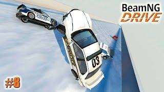 - BeamNG.drive КРУТОЙ ТРАМПЛИН Ski jumping Crash test 8 серия