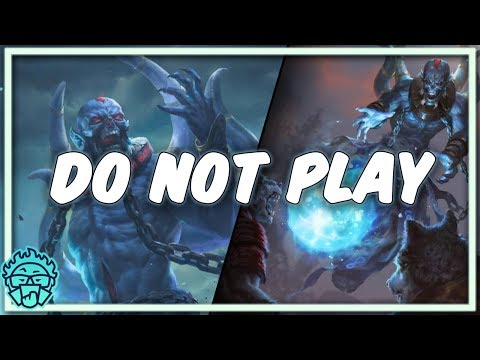 The Counter To MonoBlue | Ub Lich - DO NOT PLAY [Artifact Constructed]