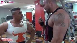 Toni Gutierrez & Sergio Fdez - Entrenamiento Espalda para Muscular Development España