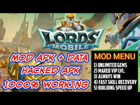 Lords Mobile Mod Apk + Data Hacked & Cheats | 100% Working - No Root