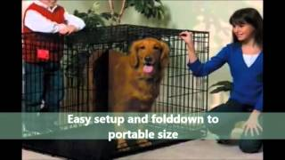 Midwest Folding Dog Crate | See Our Review And Discount Link
