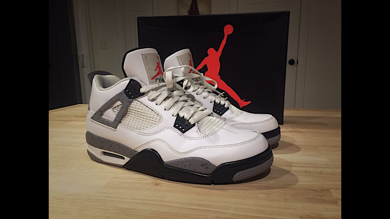 7d5314b3 A Look Back at The 2012 Jordan White Cement 4 - YouTube