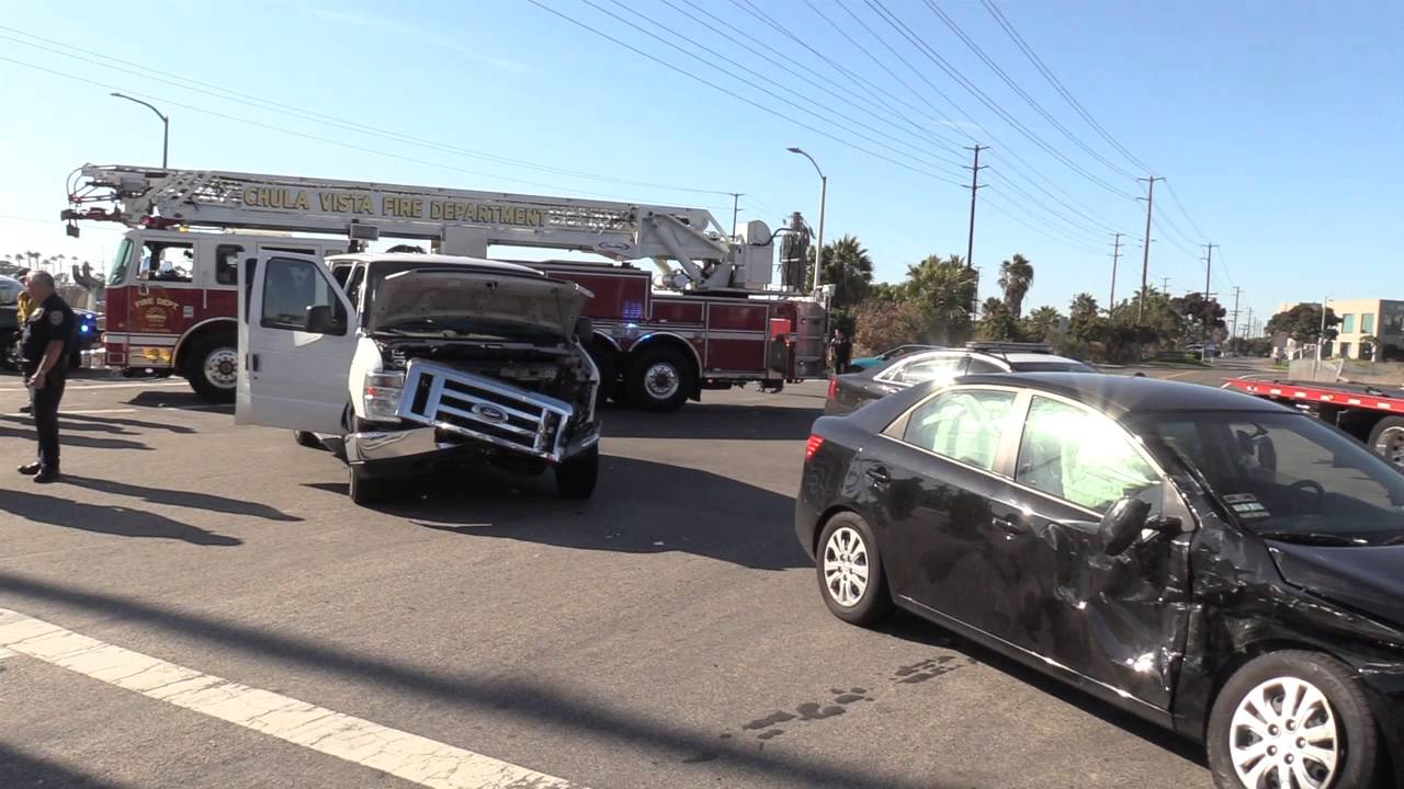 Chula Vista: Accident with Special Needs People