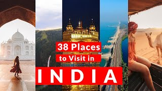 38 Best Places to visit in  ndia  TOP 38 Place to visit in  ND A  place to visit in  ndia