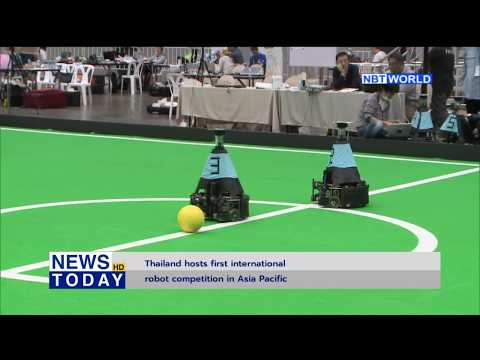 Thailand hosts first international robot competition in Asia Pacific