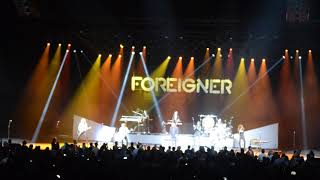 Foreigner live - Hot Blooded 11-9-18