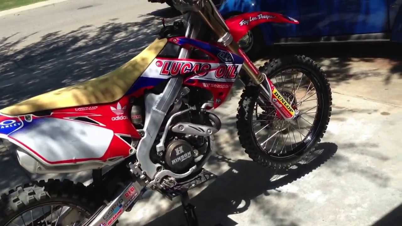 crf250r 2010 please some one help