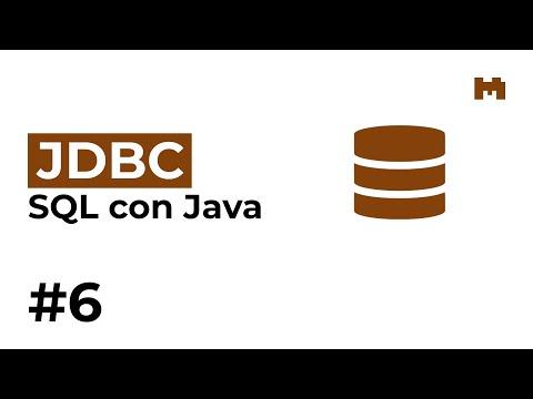 Java: JDBC –6. Statement Y ResultSet