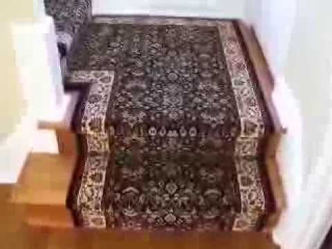 Hall And Stair Runner Installation Youtube