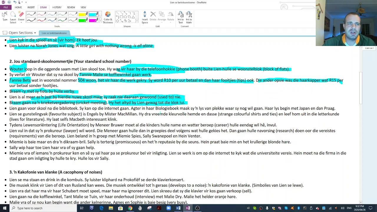 Download Lien se lankstaanskoene Summary 1
