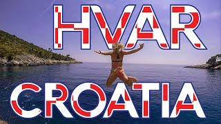 Hvar Croatia Vlog - Cliff Jumping Croatia - Backpacking Europe