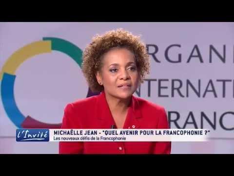 """Michaëlle JEAN : """"Je suis candidate pour diriger la Francophonie"""""""