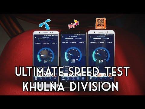 GP vs ROBI vs BL | Ultimate 4G Speed Test - Khulna Division