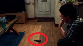 Ghost Throws Object - Real Paranormal Activity Part 10.2