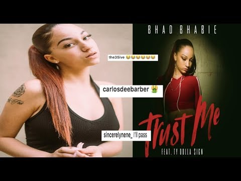 Bhad Bhabie DRAGGED After Trash new song Feat. Ty Dolla $ign Drops