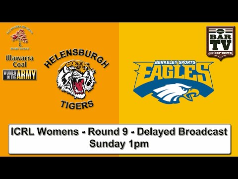 2015 Women in Defence ICRL Round 9 - Delayed Broadcast - Helensburgh v Berkeley