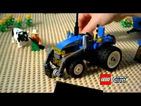 Lego City Farma 7637 Wwwmegadyskontpl Sklep Zabawki Youtube