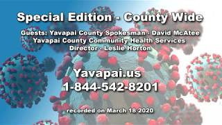County Wide - Coronavirus Update - Yavapai County Community Health Services