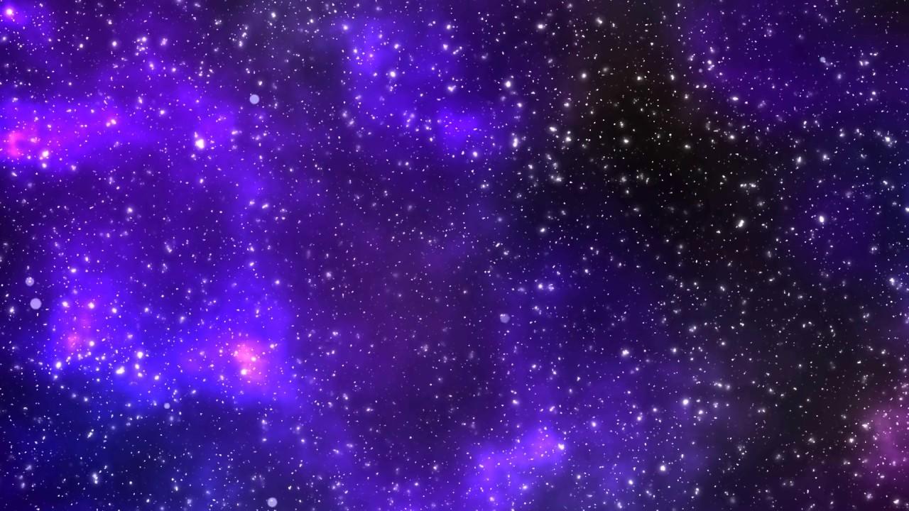 Animated galaxy background - YouTube