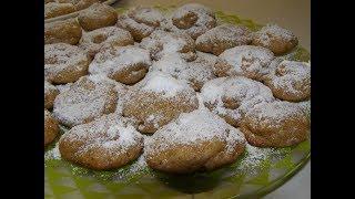 Ореховое печенье с хурмой. Печенье- обьеденье! 🍪 Nut biscuits with persimmons