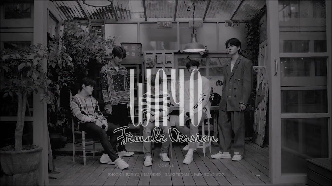 TREASURE JIHOON x JUNKYU x MASHIHO x BANG YE DAM x PARK JEONG WOO 'WAYO' [Female Version]