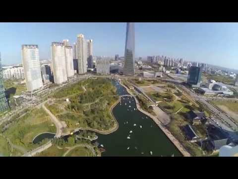[syma x8c + xiaomi cam] Songdo central park in Incheon Korea