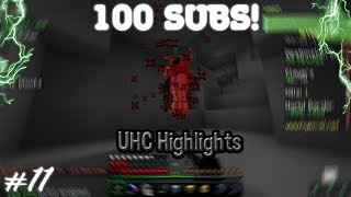 100 SUBS!!!   Hypixel UHC Highlights Episode 11 (10 Kills)