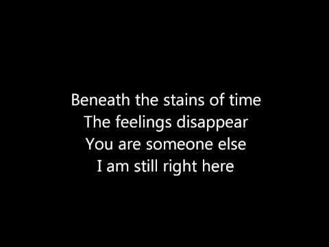 "Nine Inch Nails - ""hurt"" with lyrics"