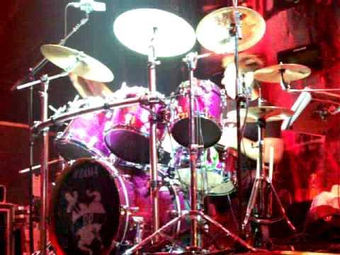 Duran Duran - Montclair - Dec.14.08 - Roger's Drum Solo during Girls On Film