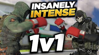 Most Intense 1v1 Challenge EVER... (Youtuber vs Youtuber) | Call of Duty Mobile | COD