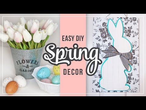 Spring & Easter DIY Home Decor Ideas | Easy Spring Crafts | DIY Easter Decorations
