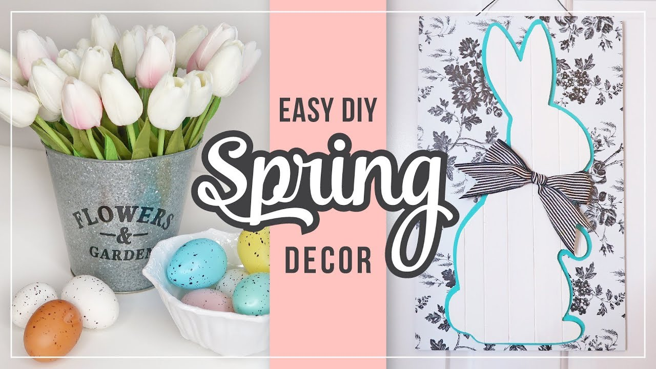Spring Easter Diy Home Decor Ideas Easy Spring Crafts Diy