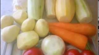 Овощная запеканка с кабачками
