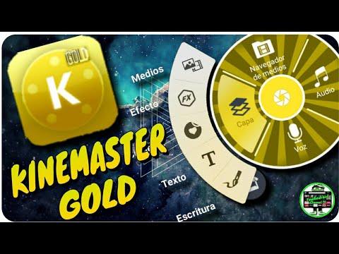 descargar kinemaster gold sin marca de agua