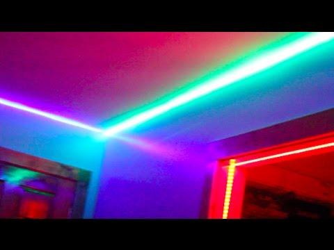 PROJECT: Bedroom Dancefloor - Making LEDs flash to music