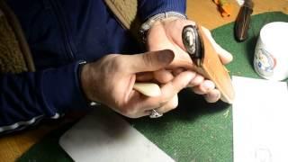 Видео-урок от Альмова Мусы по пошиву сложносоставных ножен.