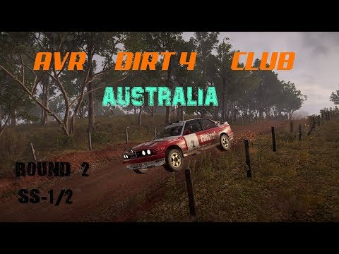 "AVR Dirt4 Club S-1/2 With BMW M3 E30 ""AUSTRALIA""#AVRDIRT4CLUB"