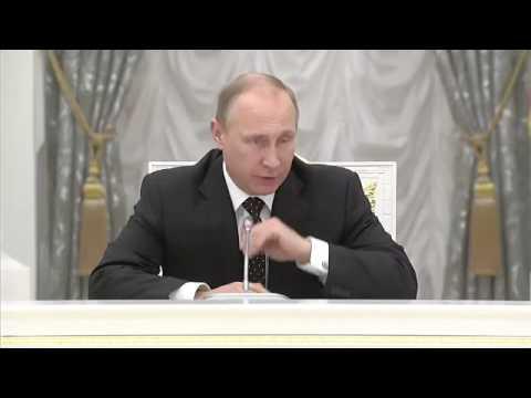 встреча В.Путина с олигархами в Кремле 19.12.2014