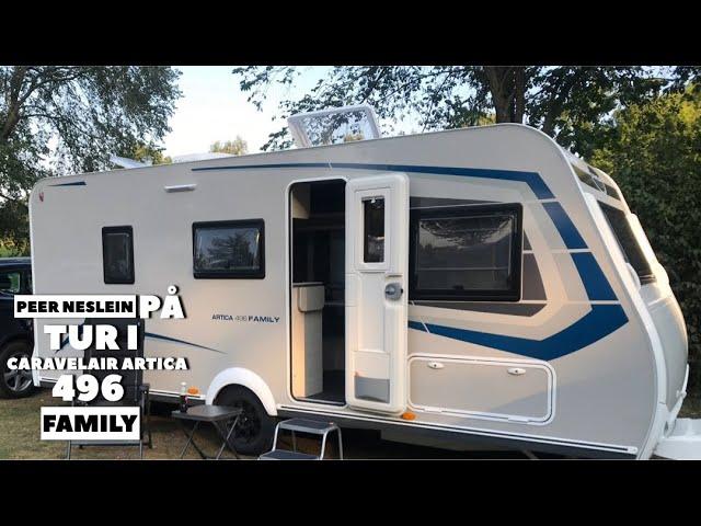 Campingtur til Tyskland - del 1 - Caravelair Artica 496 Family (2020 model)