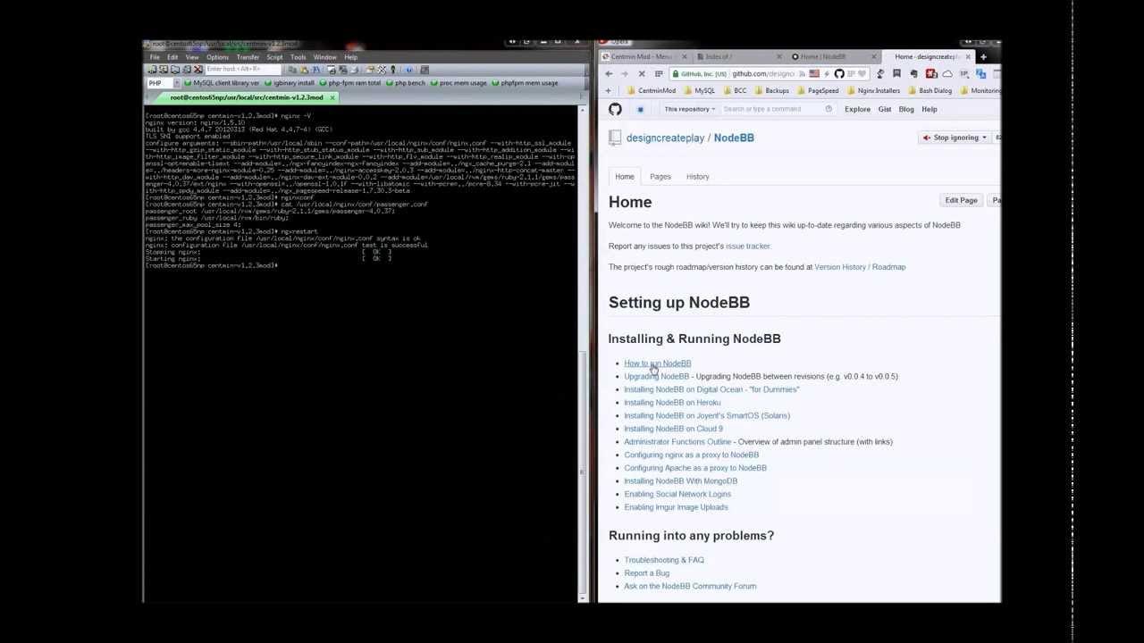 Centmin Mod Nginx .07 release - Phusion Passenger Ruby & Node.js Addon