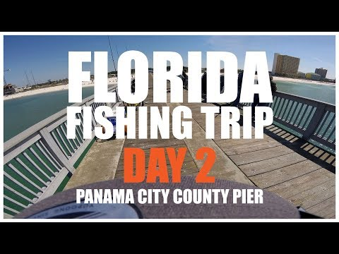 Pompano Fishing Florida (Panama City Pier)