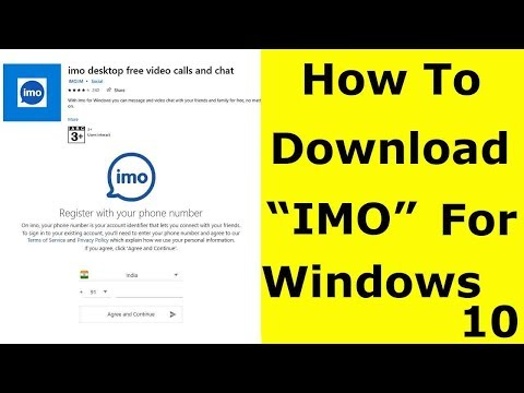 How To Install Imo App In Windows 10 Pc-2020