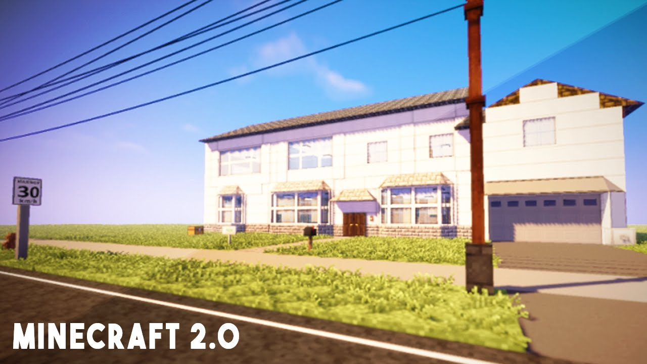 MOST REALISTIC HOUSE IN MINECRAFT