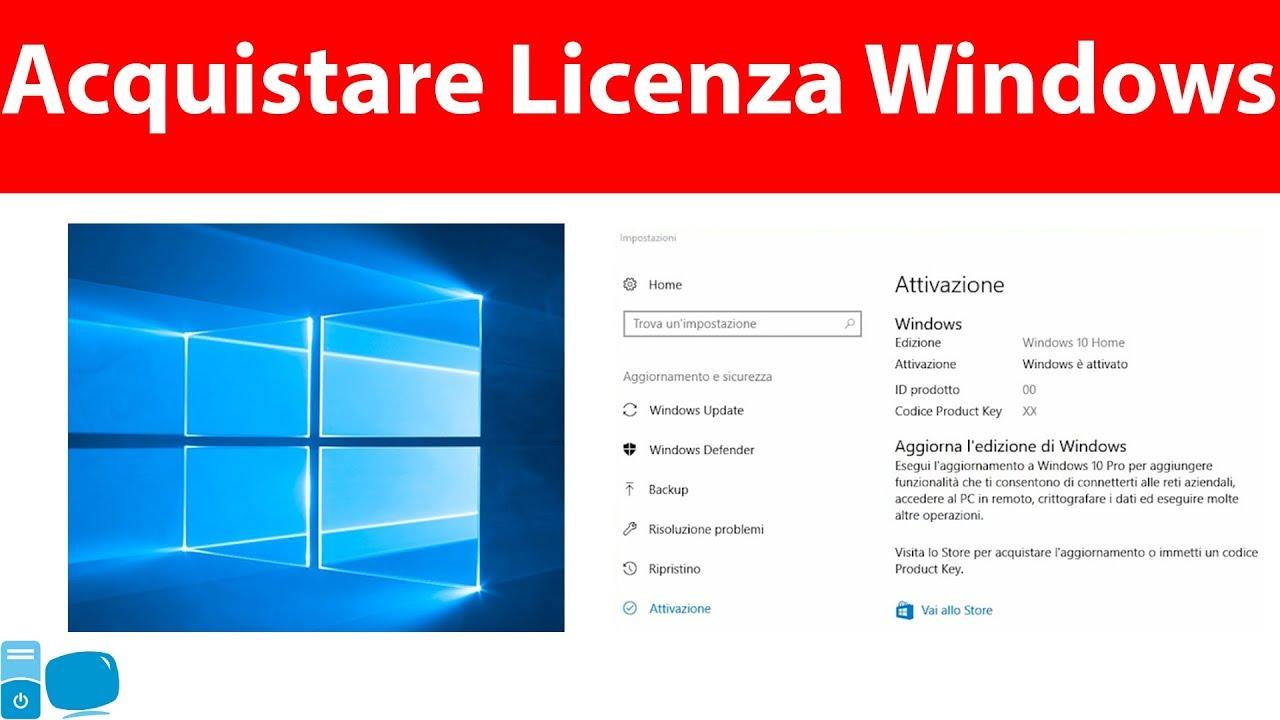 5a1ca0c766b21e Come Acquistare la Licenza Windows OEM ed Attivarla - YouTube